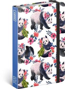 Obálka titulu Týdenní diář Pandy 2020, 11 × 16 cm