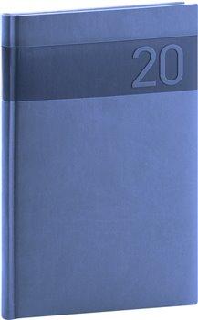 Týdenní diář Aprint 2020, modrý, 15 × 21 cm