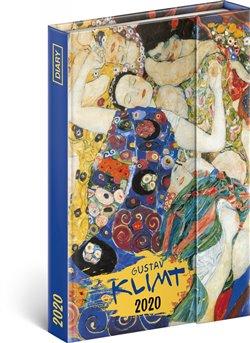 Obálka titulu Týdenní magnetický diář Gustav Klimt 2020, 11 × 16 cm