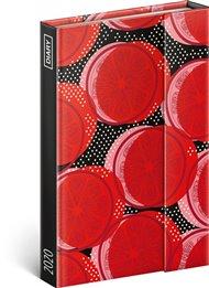 Týdenní magnetický diář Červený pomeranč 2020, 11 × 16 cm