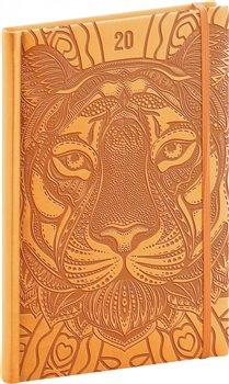 Obálka titulu Týdenní diář Vivella Speciál 2020, tygr 15 × 21 cm