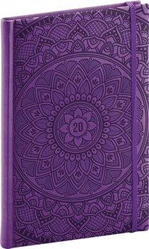 Obálka titulu Týdenní diář Vivella Speciál 2020, mandala 15 × 21 cm