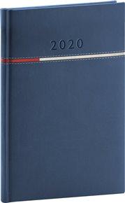 Týdenní diář Tomy modročervený 2020 15 x 21 cm