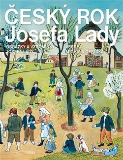 Obálka titulu Český rok Josefa Lady - Obrázky a vzpomínky Josefa Lady