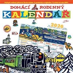 Obálka titulu Domácí rodinný kalendář 2020