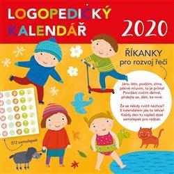 Obálka titulu Logopedický kalendář 2020 se samolepkami