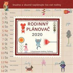 Obálka titulu Rodinný plánovač 2020