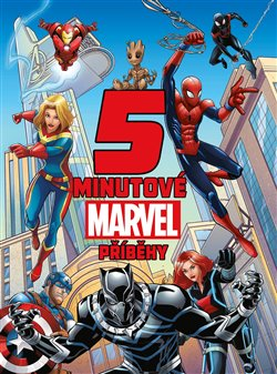 Obálka titulu 5minutové Marvel příběhy