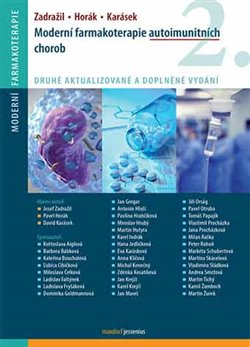 Obálka titulu Moderní farmakoterapie autoimunitních chorob