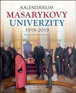 Obálka titulu Kalendárium Masarykovy univerzity 1919–2019