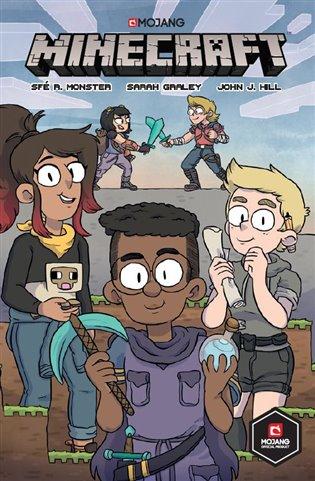 Minecraft komiks: První kniha příběhů - Sfé R. Monster   Booksquad.ink