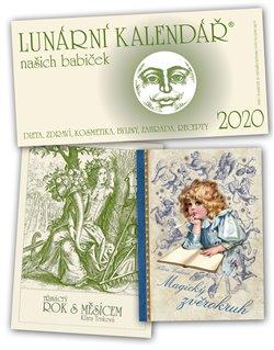 Obálka titulu Lunární kalendář našich babiček 2020 + Magický zvěrokruh + Třináctý rok s Měsícem