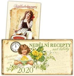 Obálka titulu Stolní kalendář nedělní menu 2020 + Základní recepty