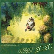 Kalendář 2020 nástěnný – Jiří Trnka, Zahrada