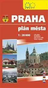 Praha velká 1:20 000