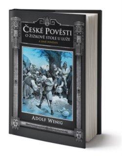 Obálka titulu České pověsti O Žižkově stole u Luže a jiné pověsti