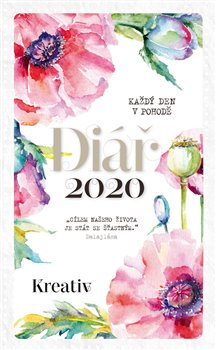 Obálka titulu Kreativ Diář 2020