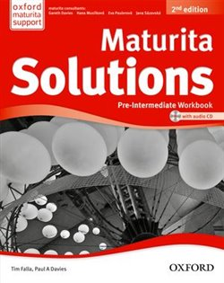 Obálka titulu Maturita solutions 2nd Edition Pre-Intermediate Workbook