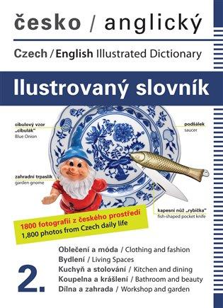 Česko-anglický ilustrovaný slovník 2. - Jana Dolanská Hrachová   Booksquad.ink