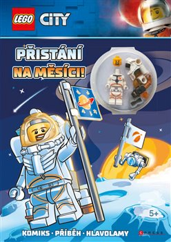 Obálka titulu Lego City: Přistání na Měsíci