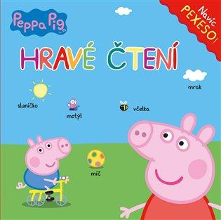 Peppa Pig - Hravé čtení s pexesem - - | Booksquad.ink