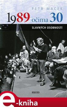 Obálka titulu 1989 očima 30 slavných osobností