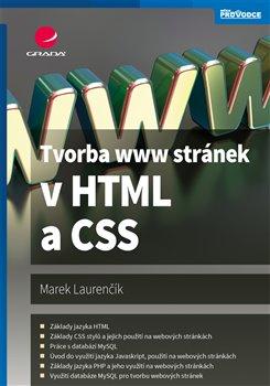 Obálka titulu Tvorba www stránek v HTML a CSS
