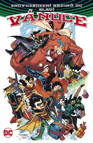 Znovuzrození hrdinů DC slaví Vánoce - Amanda Connerová,   Booksquad.ink