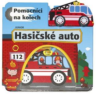 Hasičské auto – Pomocníci na kolech:+ dřevěné, ekologicky nezávadné autíčko - -   Replicamaglie.com