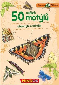 Obálka titulu Expedice příroda: 50 našich motýlů