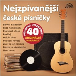 Obálka titulu Nejzpívanější české písničky
