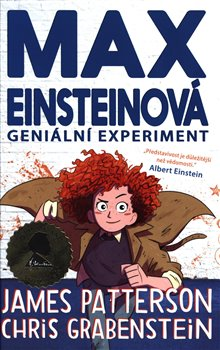 Obálka titulu Geniální experiment (Max Einsteinová 1)
