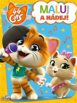 Obálka titulu 44 koček - Maluj a hádej!