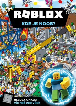 Obálka titulu Roblox - Kde je Noob?