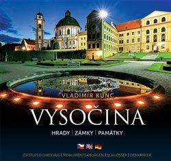 Obálka titulu Vysočina – hrady, zámky, památky