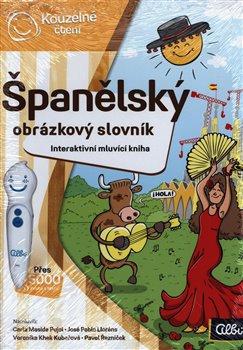 Obálka titulu Kouzelné čtení - Španělský obr. slovník