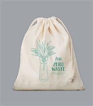 Plátěný sáček Zero Waste - zelený
