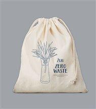 Plátěný sáček Zero Waste - modrý