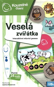 Obálka titulu Kouzelné čtení - Veselá zvířátka pexeso