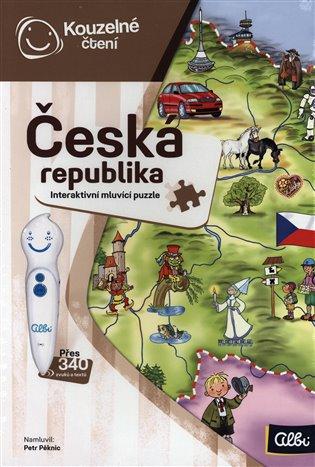 Kouzelné čtení - Česká republika puzzle - -   Replicamaglie.com