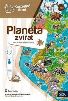 Obálka titulu Kouzelné čtení - Planeta zvířat puzzle