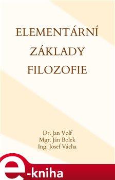 Obálka titulu Elementární základy filozofie