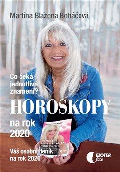 Obálka titulu Horoskopy na rok 2020