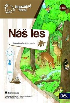 Kouzelné čtení - Náš les puzzle