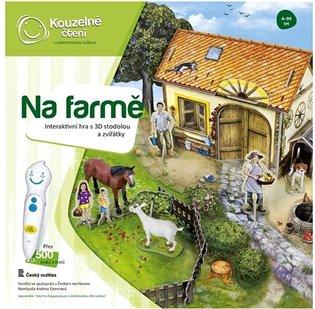 Kouzelné čtení - hra Na farmě - -   Booksquad.ink
