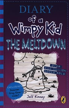 Obálka titulu Diary of a Wimpy Kid: The Meltdown (book 13)
