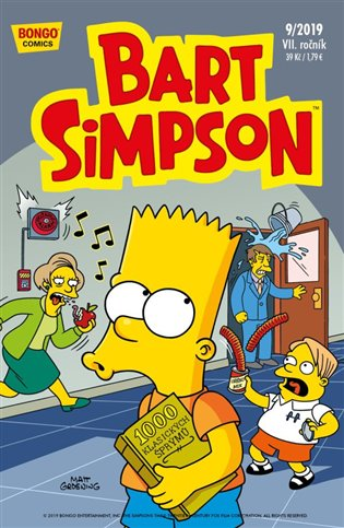 Bart Simpson 9/2019 - -   Booksquad.ink