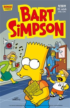 Obálka titulu Bart Simpson 9/2019