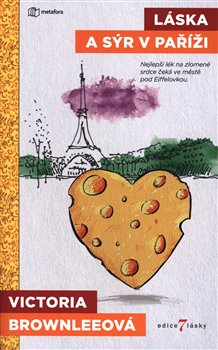 Obálka titulu Láska a sýr v Paříži