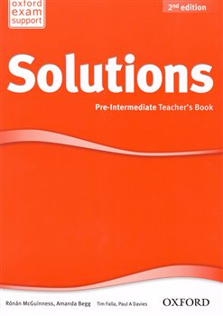 Obálka titulu Maturita Solutions 2nd Edition Pre-intermediate Teacher´s Book